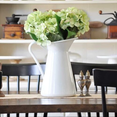 Farmhouse Spring Home Tour via Little Glass Jar