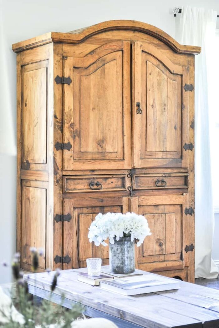 Secondhand Rustic TV Armoire