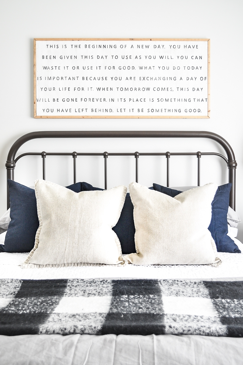 Master Bedroom Weekend Makeover