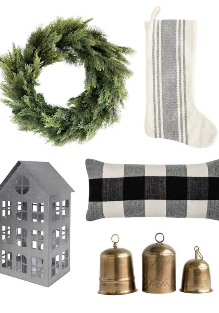 Natural and Neutral Christmas Decorations