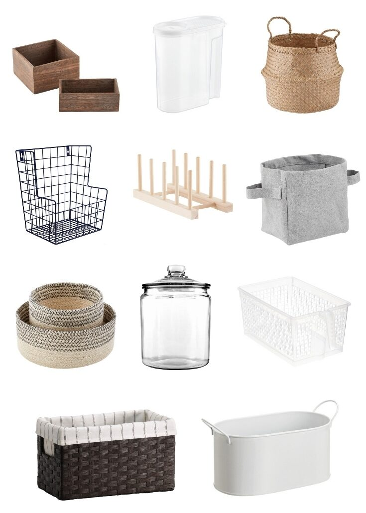 50 Pretty Home Organizers for $10 or less