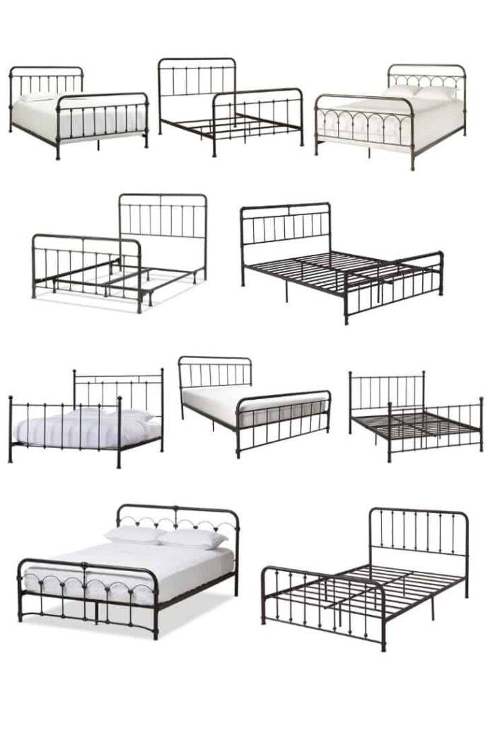 10 Antique Inspired Metal Beds Under $300