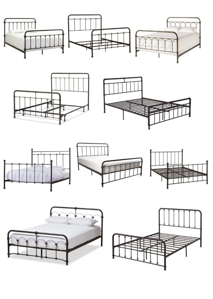 10 Antique Inspired Metal Beds