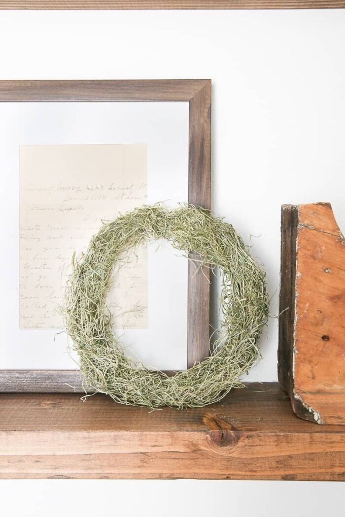 Mini Spring Moss Wreath