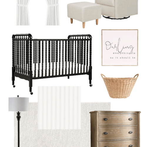 Neutral Nursery Design and Plans