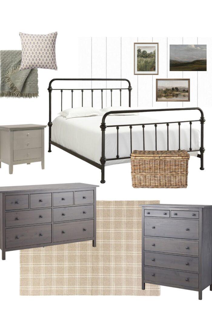 Master Bedroom Design Plans – One Room Challenge