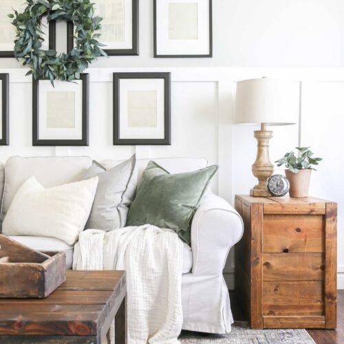 New Vintage Style Living Room Rug