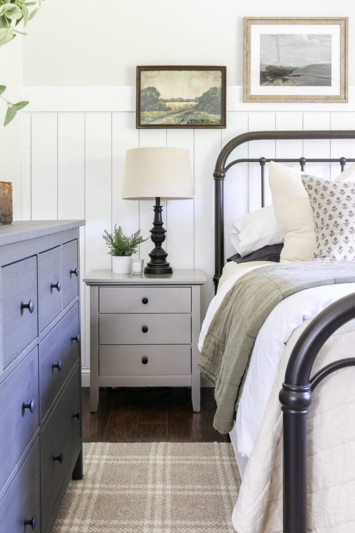 Cozy Vintage Master Bedroom Makeover Reveal