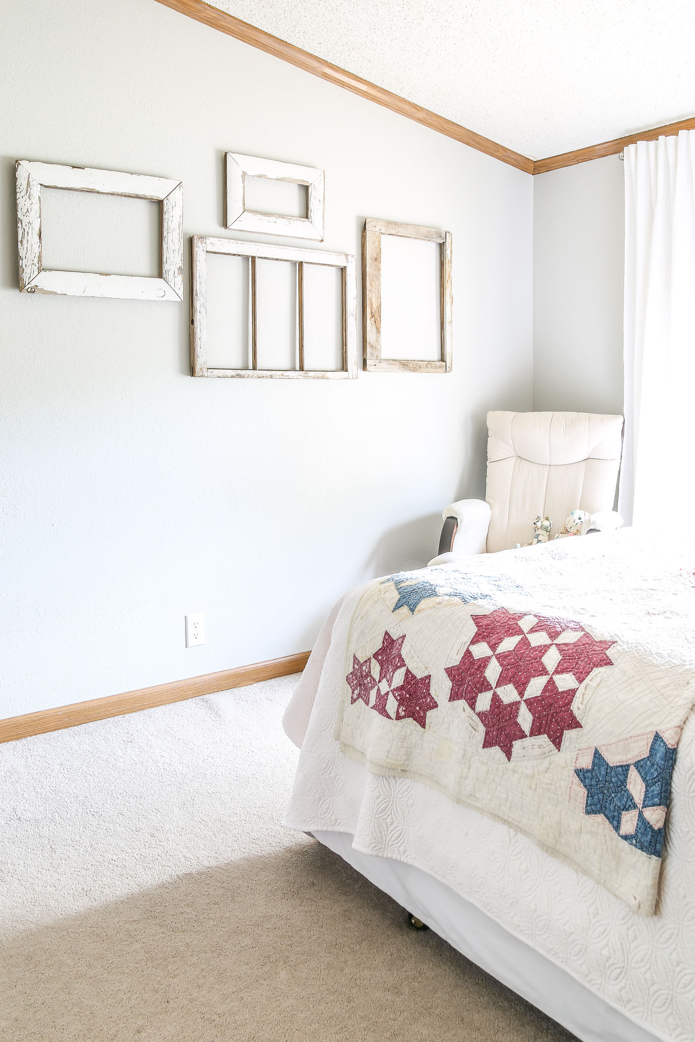 Bedroom Mini Makeover at My In-Laws House