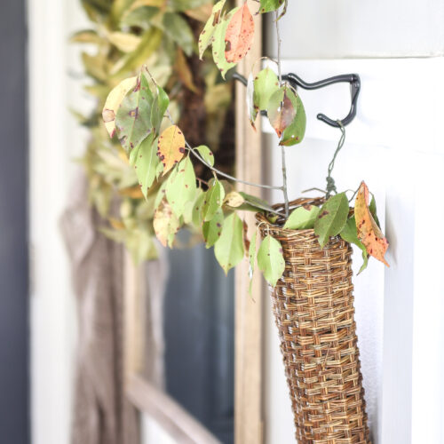 Festive Fall Entryway