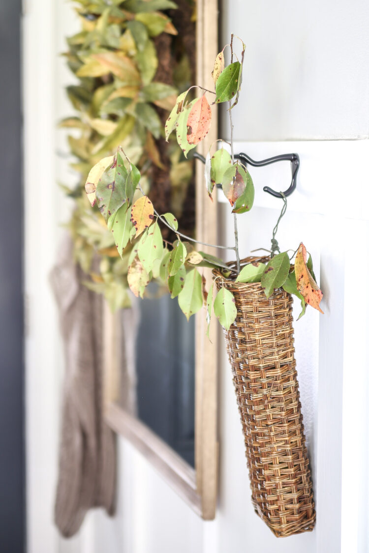 Festive Fall Entryway