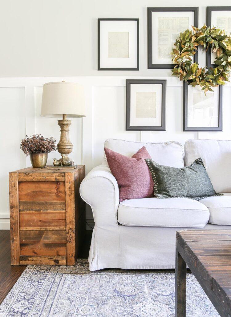 Moody Fall Living Room