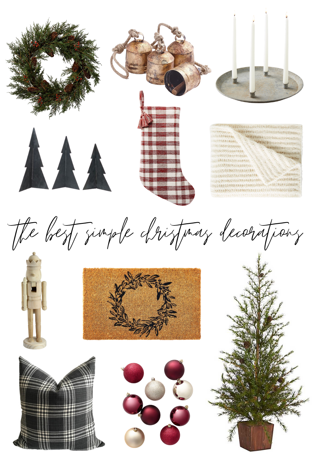 The Best Simple Christmas Decorations