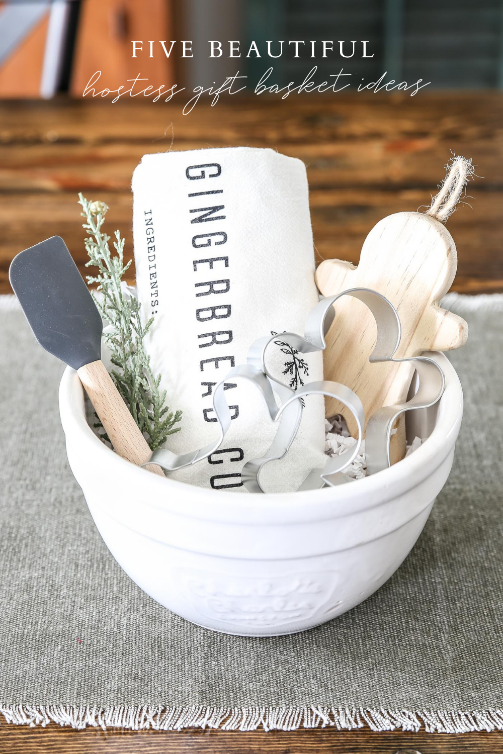 Five Beautiful Hostess Gift Basket Ideas