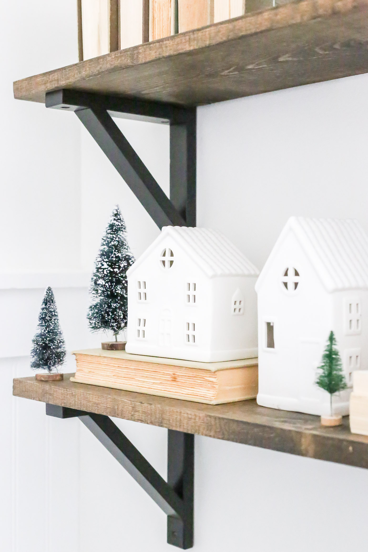 Neutral and Natural Christmas Nursery