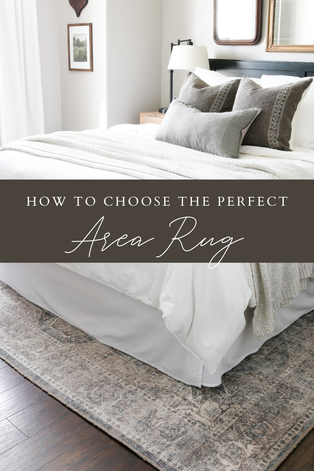 How to Choose the Perfect Area Rug