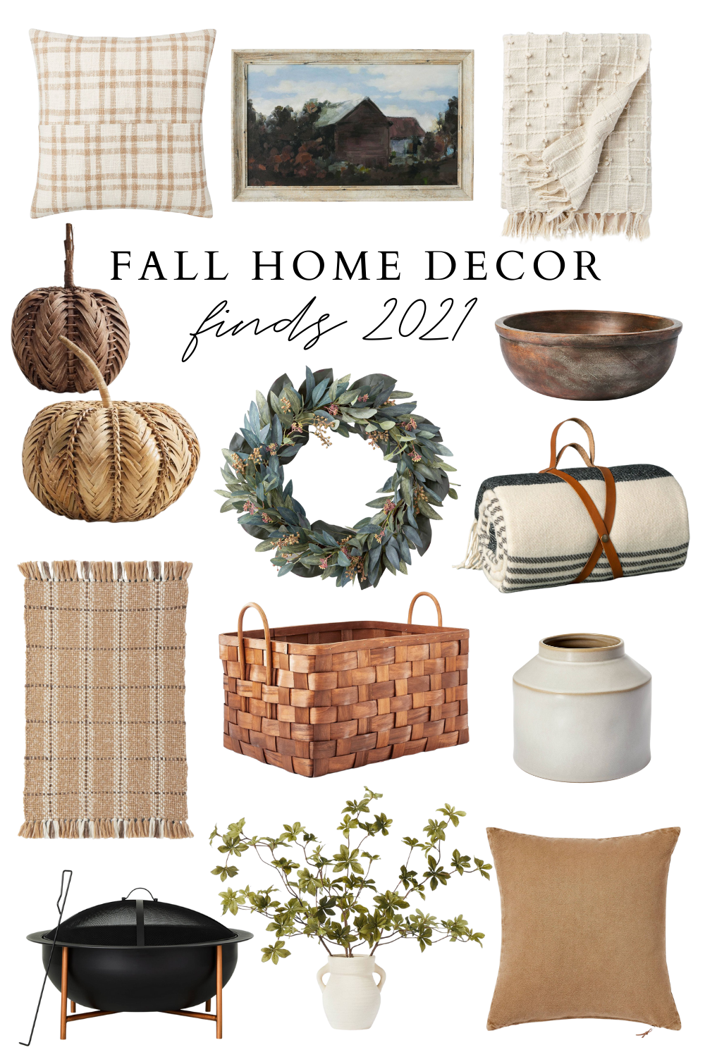 Fall Home Decor Finds 2021