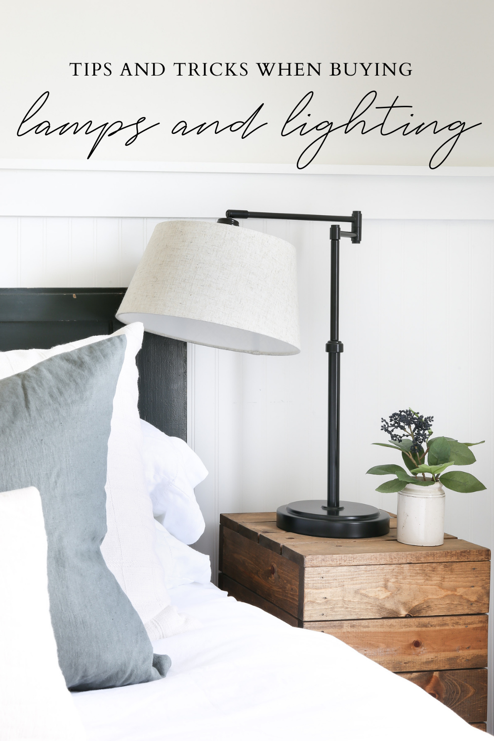 Tips and tricks when buying lamps and lighting