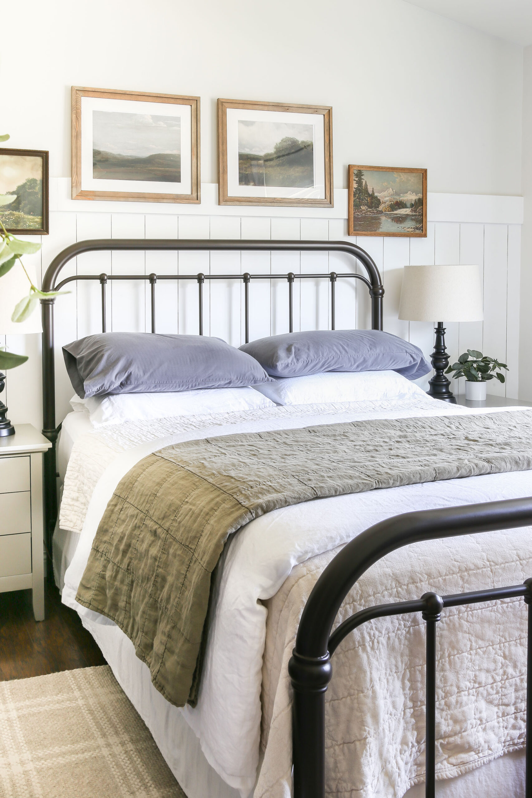How to Layer and Style a Bed
